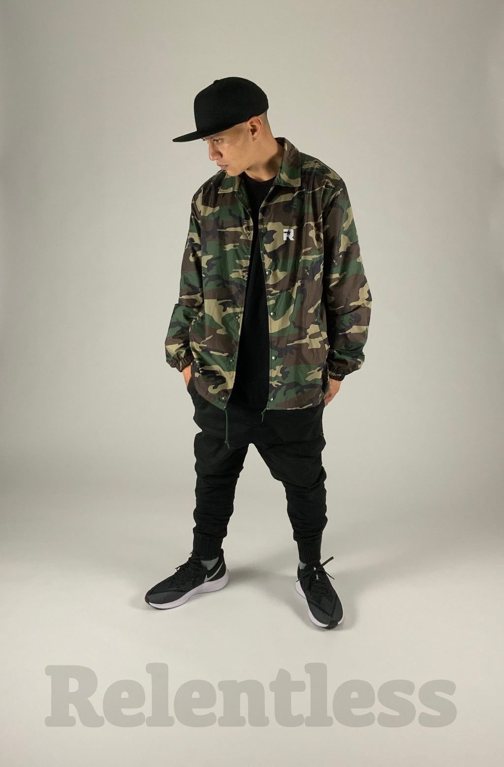 Relentless camo jacket