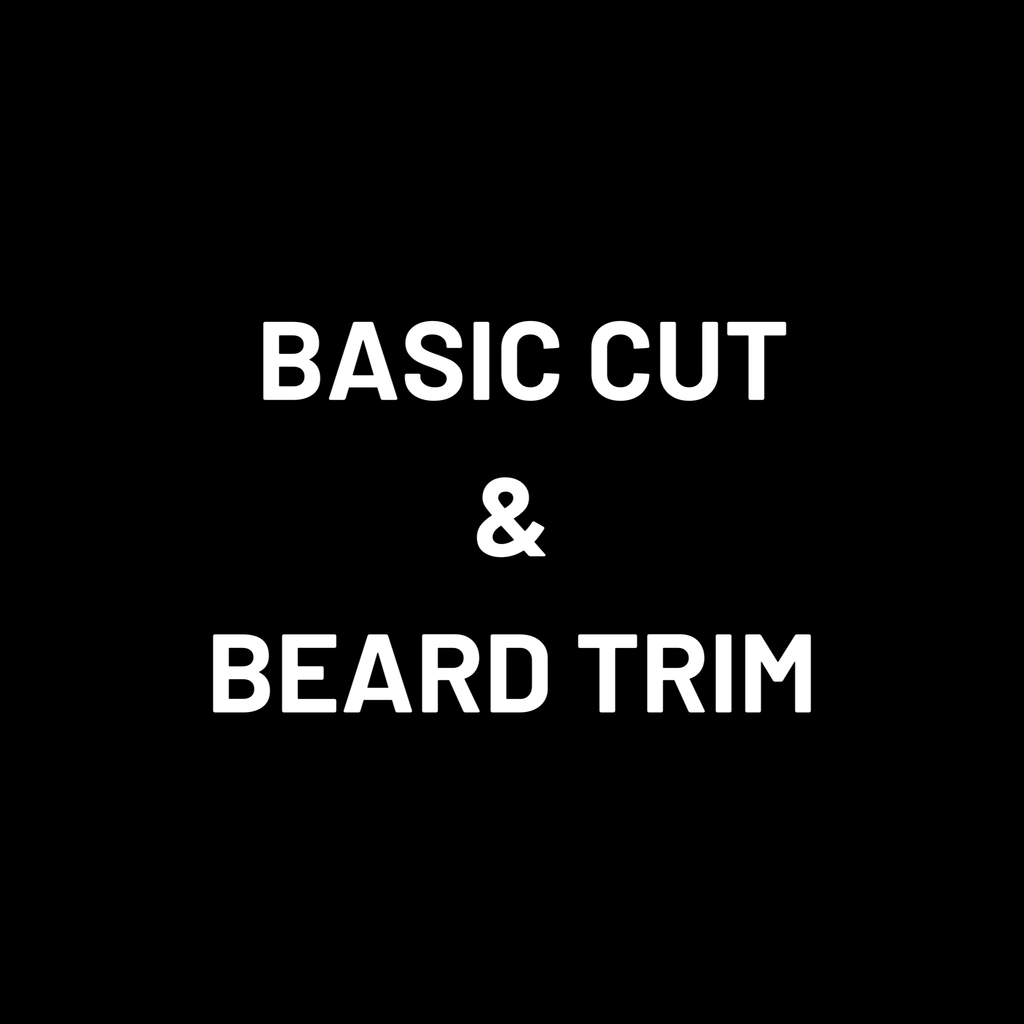 Basic Mens Cut and Beard Trim
