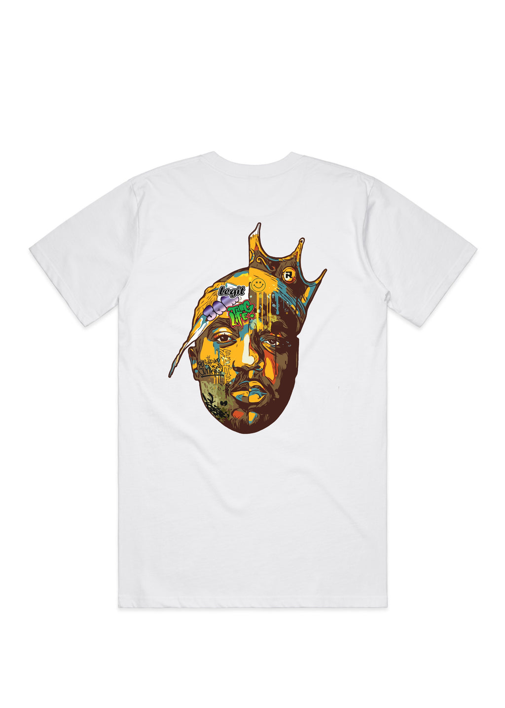 Two Kings white tee