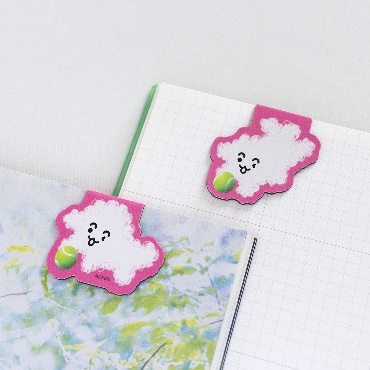 """PUFF PUPP"" BOOKMARK SET"
