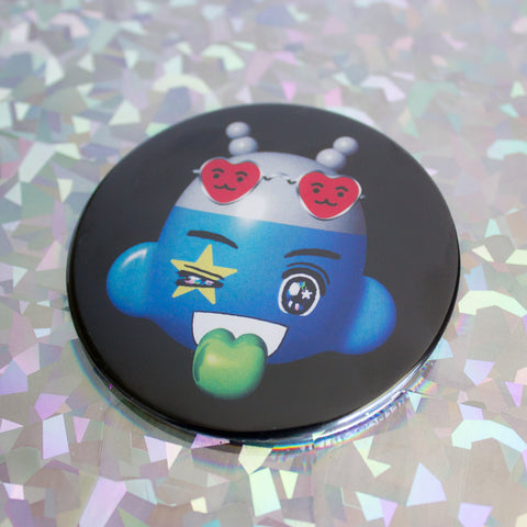"""COOL ALIEN"" BIG BUTTON"