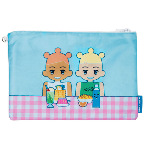 "LARGE ""CAFE"" POUCH"
