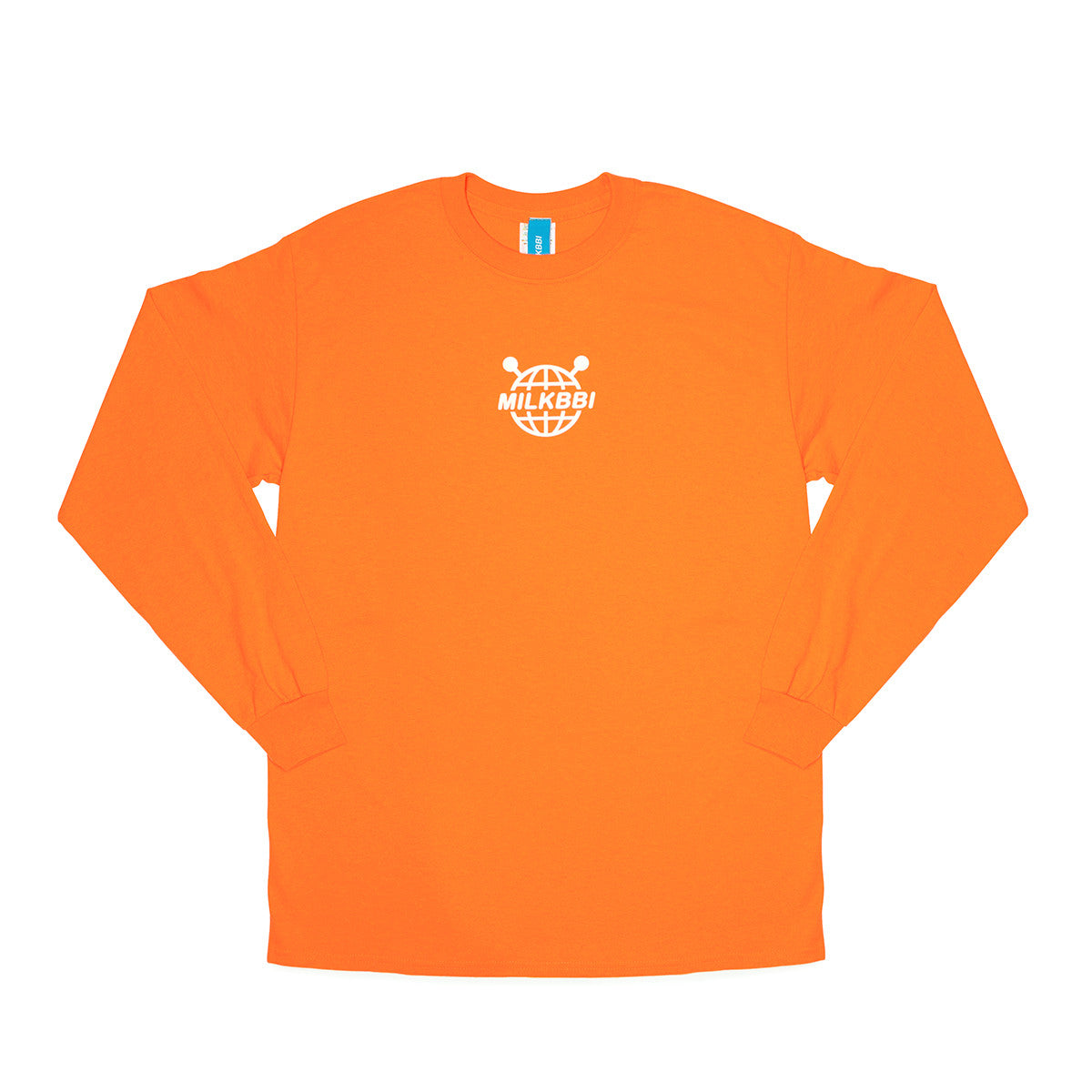 "ORANGE ""WORLDWIDE"" LOGO SHIRT"