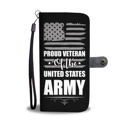 Army Phone Wallet Case