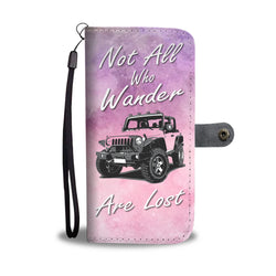 Not All Who Wander Wallet Phone Case