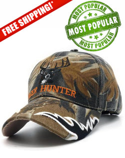 2017 New Deer Hunter Camouflage Hat