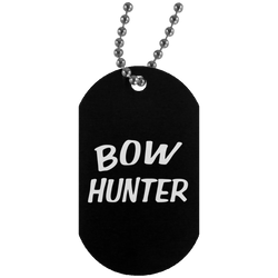 """Bow Hunter"" Dog Tag"