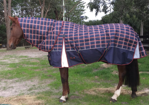 Rug Up Horsewear Mia 1200D Rug with Detachable Neck - CLICK IN TO VIEW COLLECTION - Rug Up Horsewear