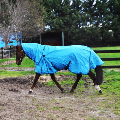 Rug Up Horsewear 600D Rainsheet with Detachable Neck - Rug Up Horsewear