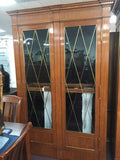 Ralph Lauren Home Polo Rue Royale China Cabinet Curio - Manassas Consignment