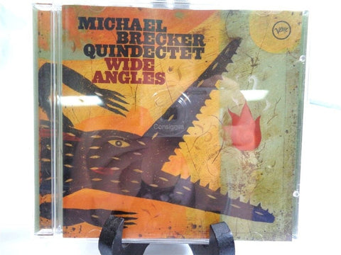 Michael Brecker Quindectet Wide Angles CD - Manassas Consignment