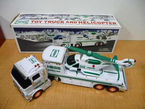2006 Hess Toy Truck And Helicopter - Manassas Consignment