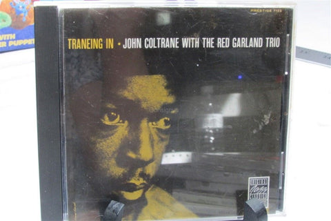 Traneing In John Coltrane with the Red Garland Trio CD - Manassas Consignment