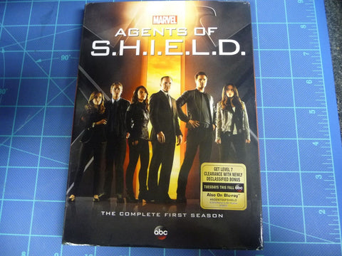 Agents Of S.H.I.E.L.D Marvel The Complete First Season With Bonus Features - Manassas Consignment