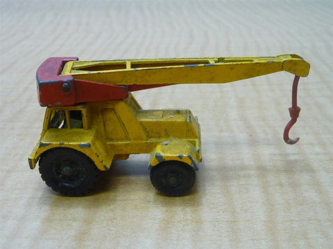 Matchbox Lesney No. 11 Yellow Taylor Jumbo Crane