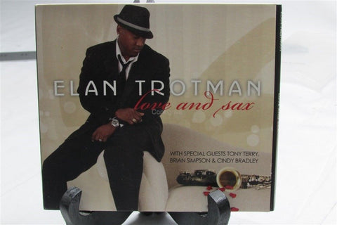 Elan Trotman love and sax CD - Manassas Consignment