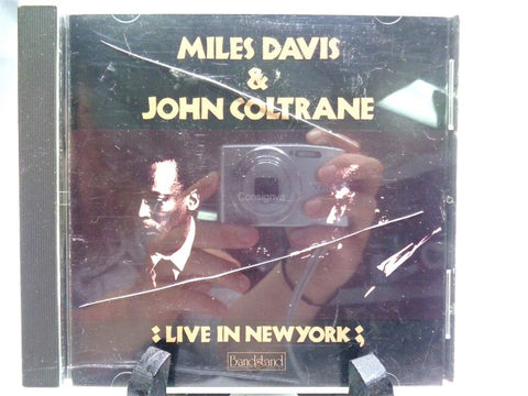 Miles Davis And John Coltrane Live In New York CD - Manassas Consignment