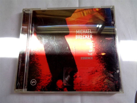 Michael Brecker Time Is Of The Essence CD - Manassas Consignment