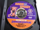 Mario Sperry Secrets Of Submission Grappling Volume 5 DVD - Manassas Consignment