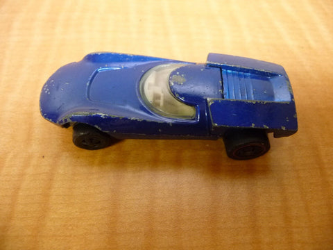 1968 Blue Hot Wheels Turbo Fire Red Line Original - Manassas Consignment