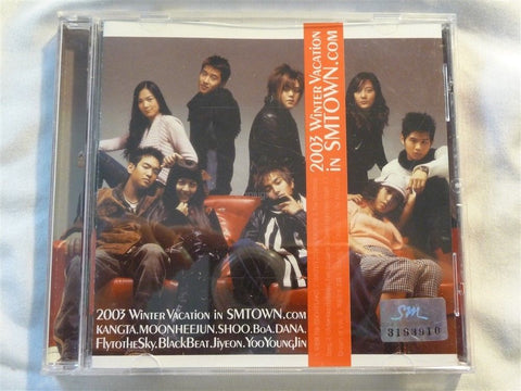2003 Winter Vacation in SMTOWN.com CD - Manassas Consignment