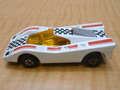 Matchbox Lesney Superfast No. 7 White Harry Hustler 1971