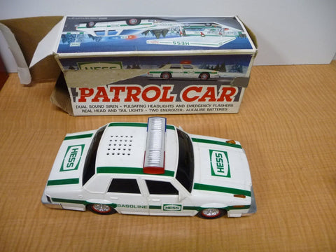 1993 Hess Toy Patrol Car Police Cruiser Collectible - Manassas Consignment