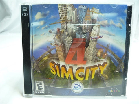 EA Games Sim City 4 Two Disc PC Game - Manassas Consignment