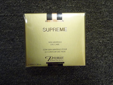 Skin Minerals Eye Care 35ml - Sealed - Supreme Premier by Dead Sea - Manassas Consignment