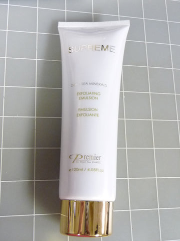 Exfoliating Emulsion 4.05 Fl.oz-  Sealed Supreme Premier by Dead Sea Minerals - Manassas Consignment