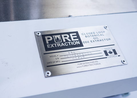 Pure Extraction Cannabis Extraction Company Canada
