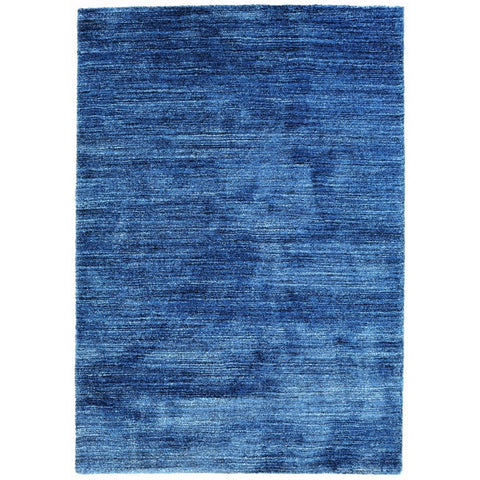 Belle Luxury Monochrome Navy Rug - Lost Design Society