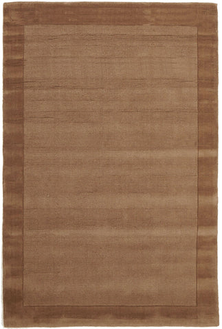 Almeria Wool  Brown Coloured Rug