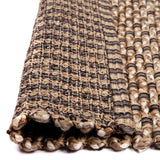 Indian Contrast Weave Jute Rug | Amata