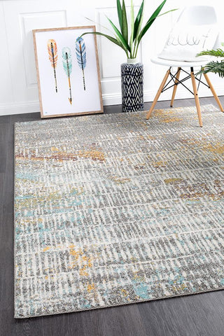 Riverbed Sticks Multi Rug