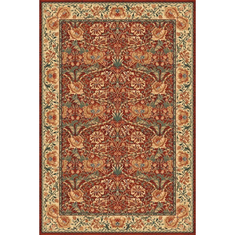 ASTORIA WOOL RUG | SEASONS | Brick | 160x230cm