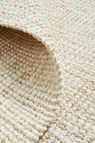 Chunky Natural Jute Barker Bleach Rug