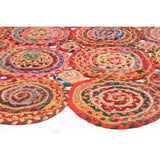 Amilia Cotton and Jute Rug Multi - Lost Design Society