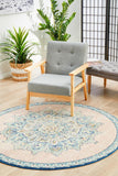 Boulevard Flamingo Round Transitional Rug