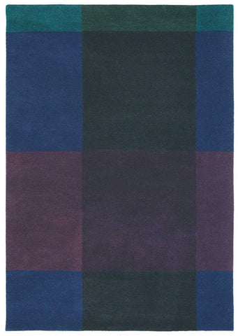 Ted Baker Plaid Navy Rug