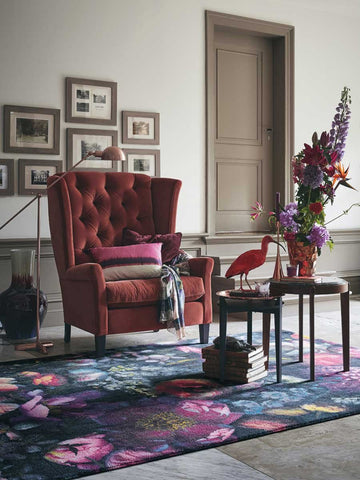 Ted Baker Shadow Floral Rug