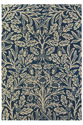 Morris & Co Indigo Oak Rug