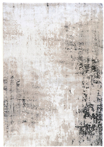 Belle Luxury Abstract White Rug II