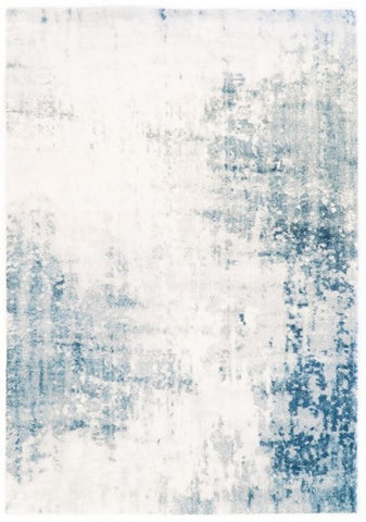 Belle Luxury Abstract White Rug III
