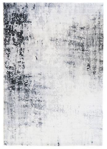 Belle Luxury Abstract White Rug I