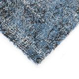 Belle Luxury Geometric Blue Rug I