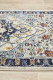 Tigris Basrah Blue Bohemian Transitional Rug