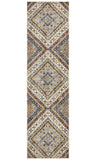 Tigris Abadan White Bohemian Transitional Rug