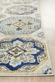 Tigris Safwan Blue Bohemian Transitional Rug