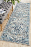 Tigris Shafi Blue Bohemian Transitional Rug